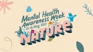 Nature and Mental Health - Mental Health Foundation #MentalHealthAwarenessWeek 2021