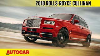 Rolls-Royce Cullinan | First look | Autocar India