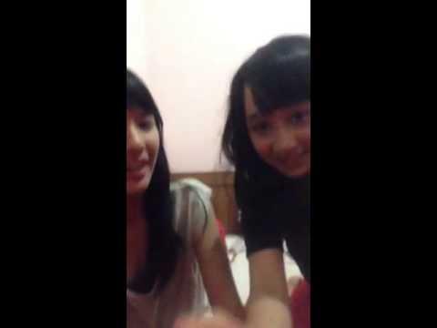 Ayana dan Beby JKT48 Pamer jidat jenong  Youtube