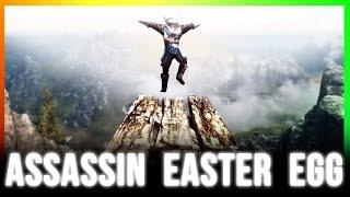 Skyrim Hidden Secrets - BARDS LEAP SUMMIT Easter Egg & Lost Valley Redoubt  Location Walkthrough