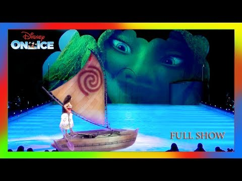 FULL Disney on ICE Mickey † s Search Party 2018 Anna Elsa Frozen Moana Coco Olaf Ariel oh My!
