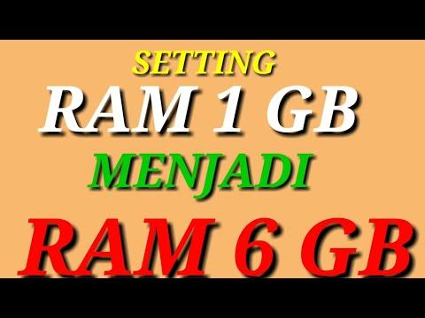TUTORIAL CARA MENAMBAH RAM HP 1.GB || semua hp bisa.