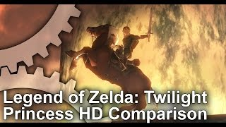 The Legend of Zelda Twilight Princess HD: Wii U vs Wii Graphics Comparison