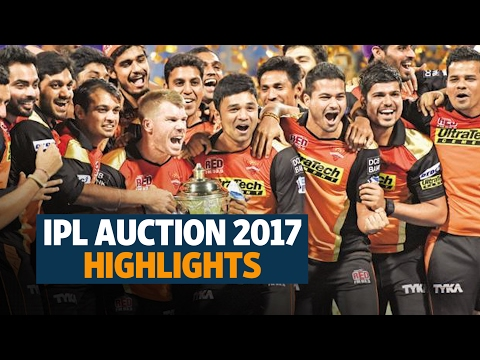 IPL player auction 2017 highlights: England cricketers flavour of the season