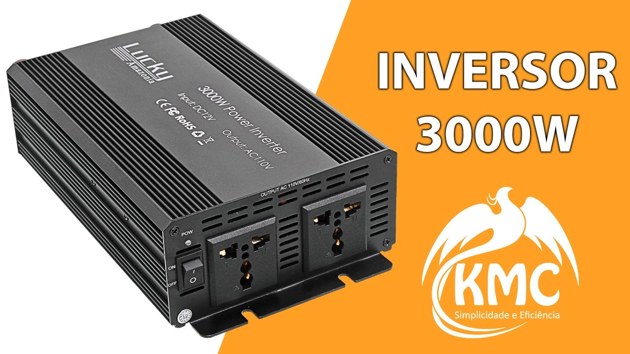Inversor Conversor Tens U00c3o Transformador 3000w 110v 12v