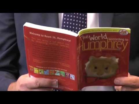 """Dr Steinhoff reads """"The World According to Humphrey: Chapter One"""""""