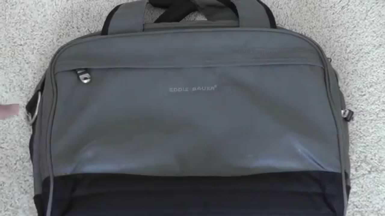Ed Bauer Laptop Messenger Bag Review