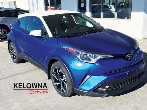 2018 Toyota C-HR Blue Eclipse White Roof