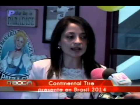 Continental Tire presente en Brasil 2014