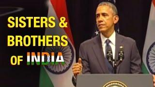 US President Obama recalls Swami Vivekananda speech: Sisters & Brothers of India