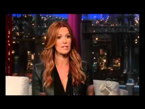 Poppy Montgomery on David Letterman Full Interview 16 July, 2013hd720