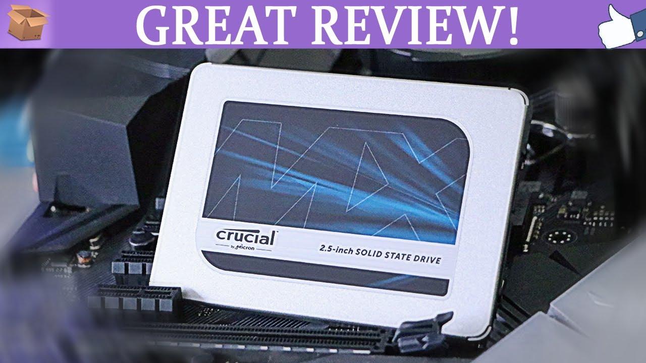 CRUCIAL MX500 – Отличный и недорогой SSD. Рекомендую! (500GB)