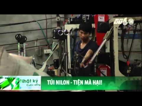 VTC14_Kinh hoàng công nghệ tái chế túi nilon