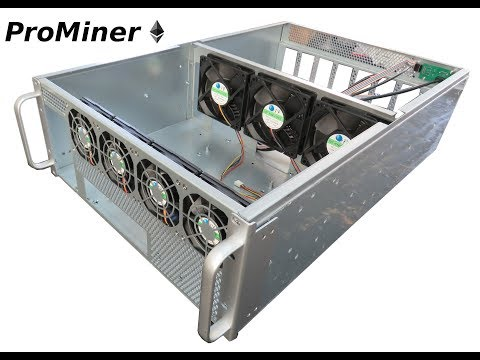 Switching 8 GPU Open Air Mining Rig Into A Server Mining Cabinet Case. BTC, ETH