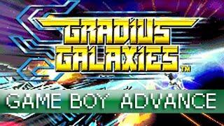 [Longplay] Gradius Galaxies (Gradius Advance) - Game Boy Advance