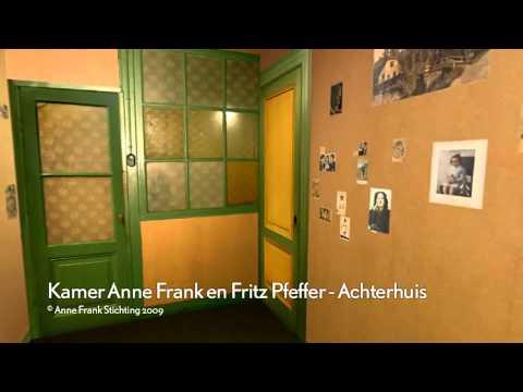 Visita ao anexo secreto de Anne Frank