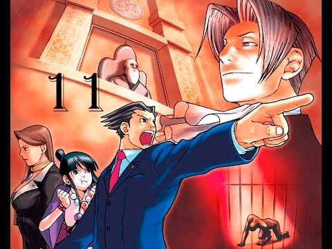 phoenix wright ace attorney #11 global estudios, la escena del crimen