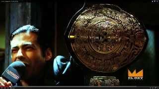 The New Lucha Underground Championship belt!