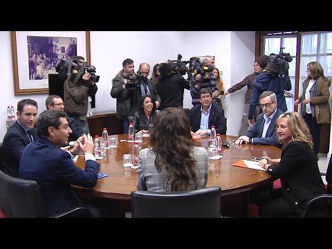 PP y Cs se dan de plazo hasta el 17 para cerrar su programa en común en Andalucía