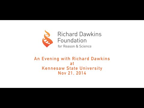 Richard Dawkins at Kennesaw State- Nov 21, 2014