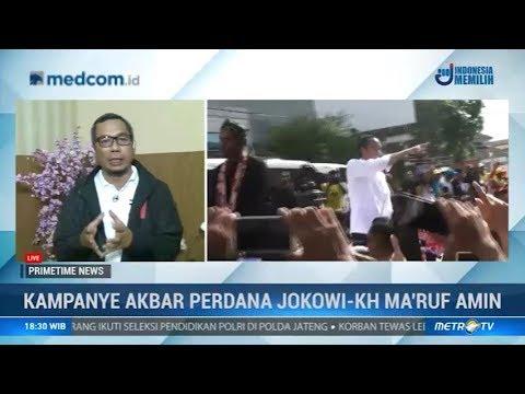 Kampanye Akbar Perdana Jokowi-KH Ma'ruf Amin