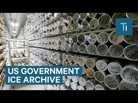 The US government keeps a massive archive of ice