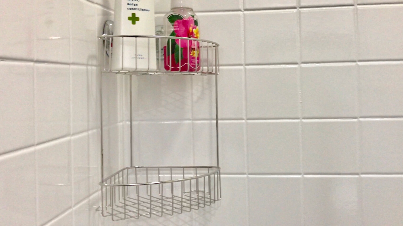 maxhold suction cup two tier stainless steel corner shower caddy review