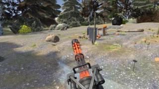 Minigun skeet - Hot Dogs, Horseshoes and Hand Grenades - HTC Vive VR
