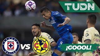 ¡Goool del Cata Domínguez! | Cruz Azul 1 - 0 América | Liga MX - Apertura 2019  - Jornada 13 | TUDN