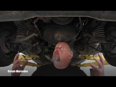 Look under Mercedes-Benz W123
