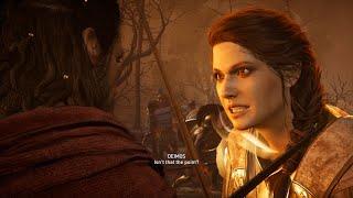 Assassin's Creed Odyssey - Athens Vs Sparta & Deimos( Kassandra) Boss Fight