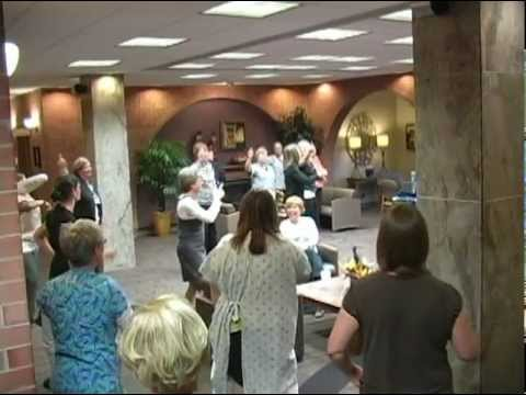Fulton County Health Center: Hand Hygiene, Infection Prevention Flash Mob
