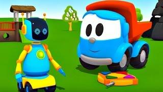 Leo Junior - Bir robot yapıyoruz - Gidip pilleri bulalım - Türkçe dublaj
