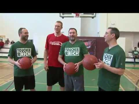 3 vs 1 - Brian Scalabrine Destroying The Competition - Scallenge [Round 3] - The White Mamba