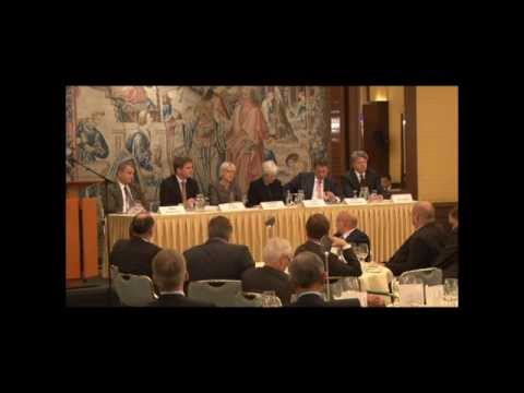 Frankfurt Stakeholder event panel discussion, 'The Future of Global Financial Reporting'