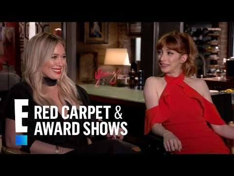 Hilary Duff Spills on Son Luca & Adopted Rescue Puppy | E! Live from the Red Carpet
