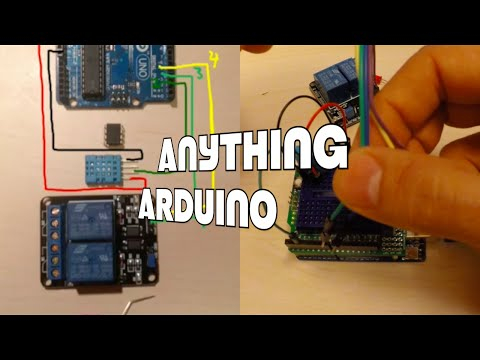 Using a DHT11 and ATtiny to control humidity and temperature [Anything Arduino] (ep4)