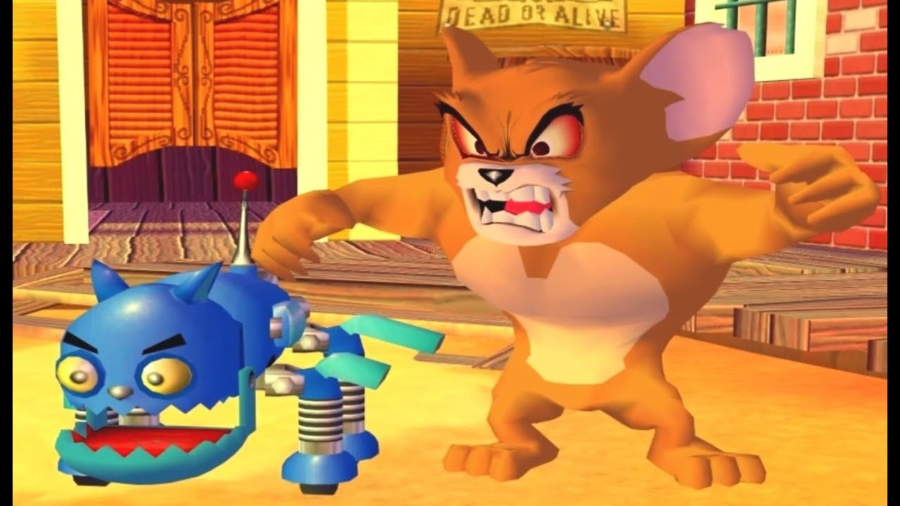 Tom and Jerry War of the Whiskers - Monster Jerry vs Robocat vs Tom vs Jerry vs Butch Games