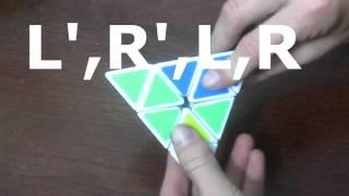 pyraminx keyhole method tutorial with alg s