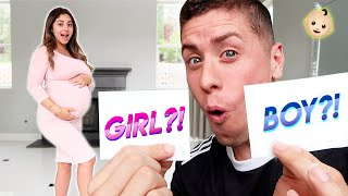 FINDING OUT THE GENDER OF OUR BABY...? **UNEXPECTED**