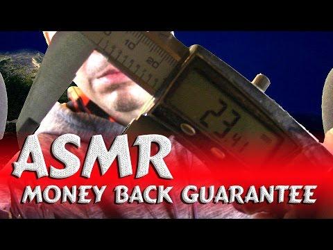 $ ASMR Money Back Guarantee $