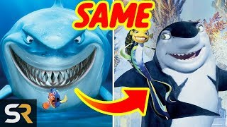 10 Shocking Similarities Between Disney/Pixar And Dreamworks Films