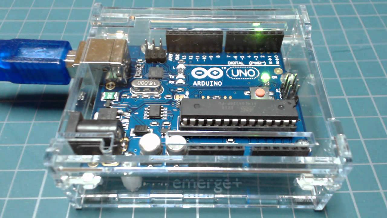 Arduino uno led blink sketch onboard d youtube