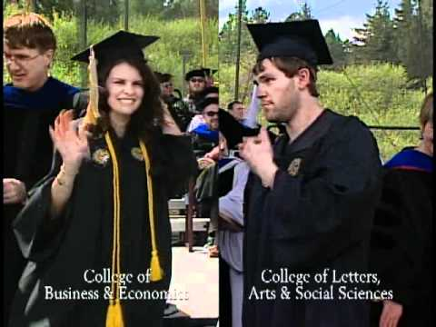 Business and Economics - 2011 University of Idaho Commencement