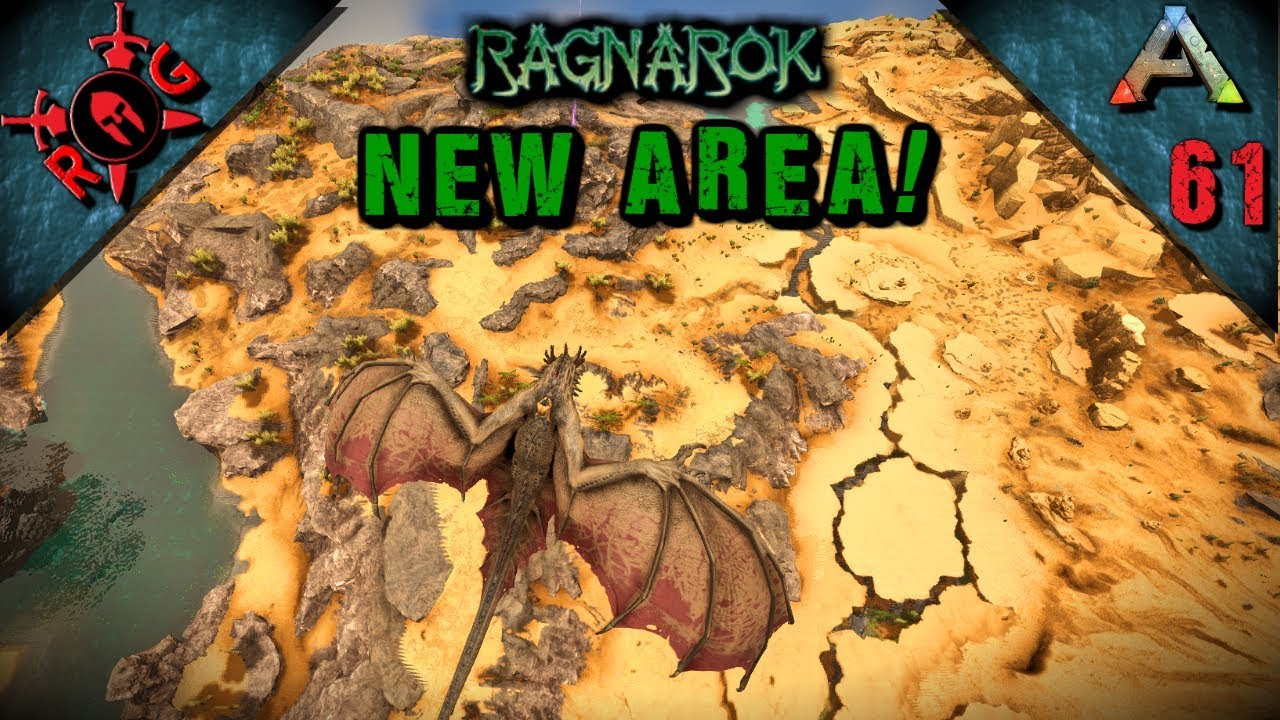 Ark Ragnarok New Map Expansion Exploration Best Base Locations Vanilla W S Sons Of Anarky Youtube