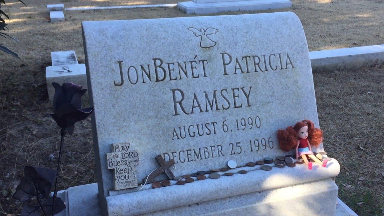 jonbenet ramseys final resting place youtube