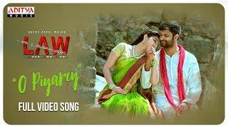 O Piyare Full Song | L A W (LOVE AND WAR) Songs | Kamal Kamaraju, Mouryani