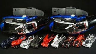 バイラルコア クリアver 日本版 韓国版比較 仮面ライダー ドライブ DXマッハドライバー炎ホノオ Kamen Rider Drive DX Mach Driver Viral core Clear thumbnail