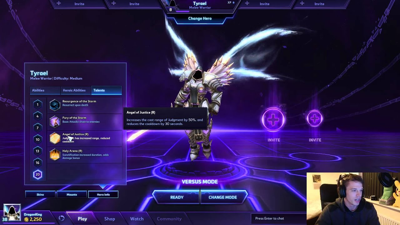Tyrael Build Dps