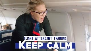 Just Relax and Enjoy Flight Attendant Training || EP 2